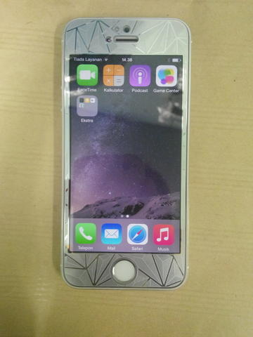 iphone 5s 64gb silver mulus