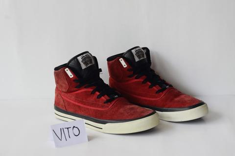 Sneakers FAMOUS SAS FUTURE HIGH-TOP RED/BLACK (RARE!!!)