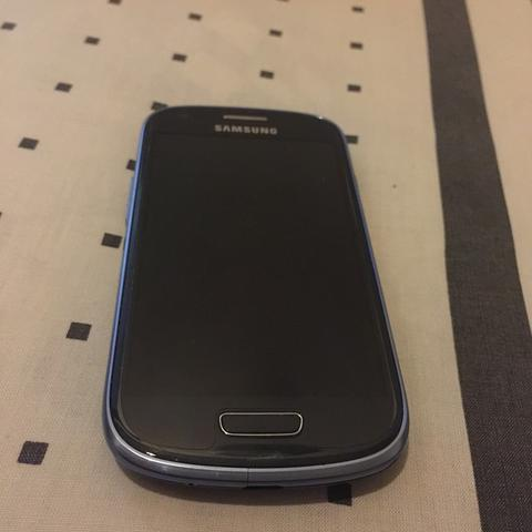 WTS Samsung S3 Mini Pebble Blue Ex Sein