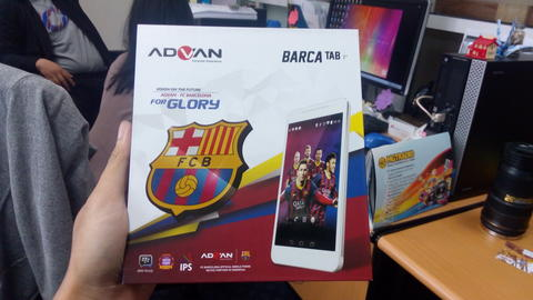 New Advan Barca Tab 7