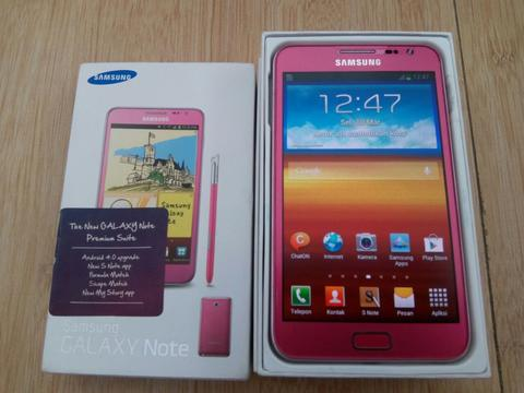 Samsung Galaxy Note 1 (N7000) warna pink