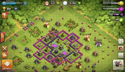 Akun extra Clash of Clans / COC TH 7 murah, 70% maxed.