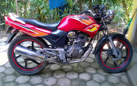 (BOOKED GAN) BARTER RODA SET/VELG ORI TIGER BUILD UP DENGAN VELG JARI JARI LEBAR