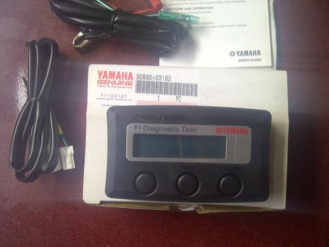 FIDT fuel injection diagnostic tools,.cek seting yamaha injeksi original