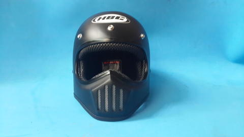 HELM BANDIT CLASSIC FOR STREETFIGHTER RIDER / VINTAGE MOTOCROSS