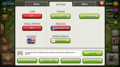 Jual ID Clash Of Clans (COC) TH 8 (Android n iOS ready)
