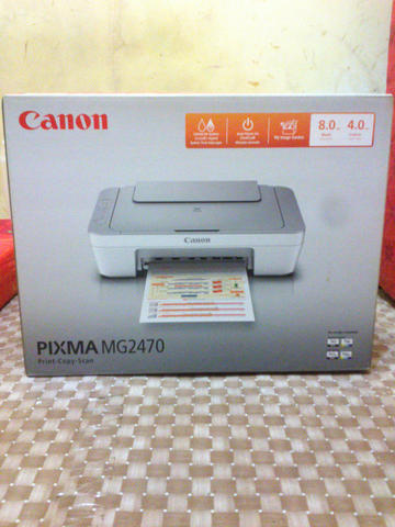 Canon PIXMA MG2470 Printer (Nego)