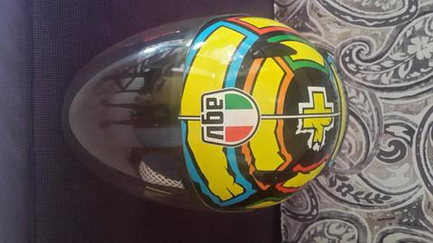 JUAL HELM AGV IANONNE Graphis water decal