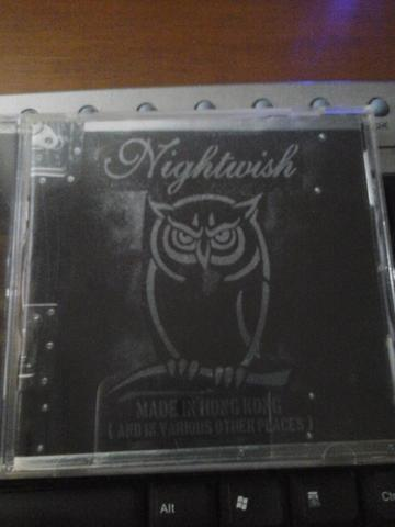 cd live nightwish hongkong import