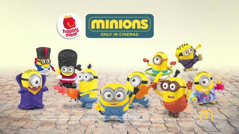 Terjual Minion Papoy Despicable Me 3 Happy Meal Minions 2015 Kaskus