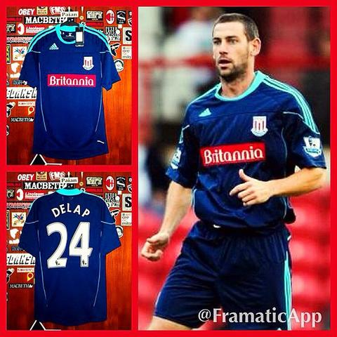 [WTS] Jersey Stoke City Away 2010/2011 #24 DELAP Player Issue Formotion (Original)