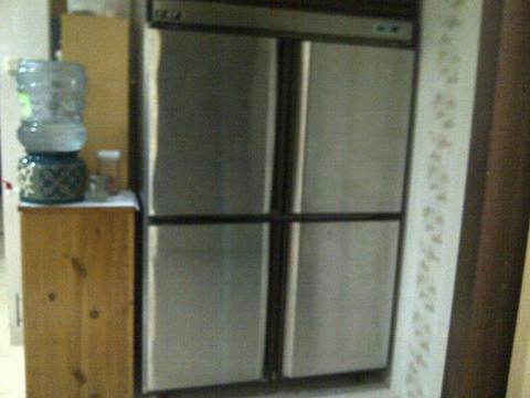 upright chiller stainless steel