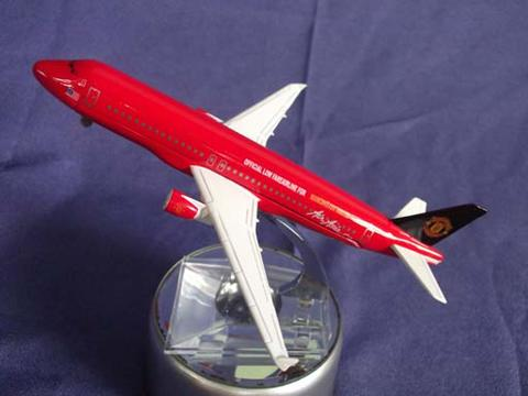 DIECAST AIR ASIA MANCHESTER UNITED SCALE 1:400