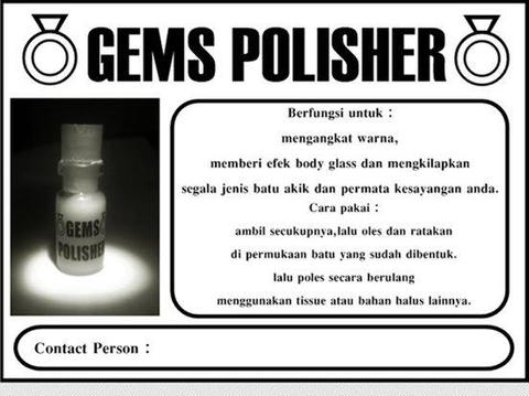 LAPAK KHUSUS AGEN GEMS POLISHER (RESELLER WELCOME)
