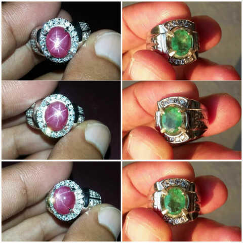 Sapphire / Ruby / Emerald High Quality