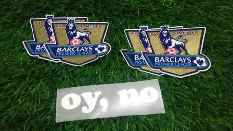 Patch BPL Champions 11-12 (For Man.City 12-13) Original Sporting iD
