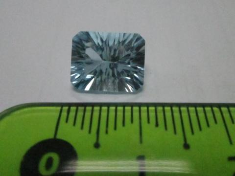 Blue Topaz - mined from earth
