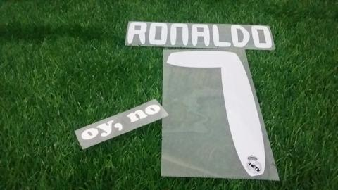 Nameset Real Madrid Away 10-11 Ronaldo , Benzema , Kaka ORIGINAL
