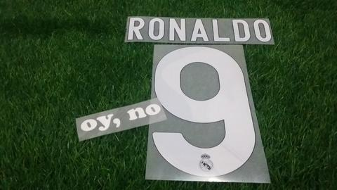 Nameset Real Madrid Away 09-10 Ronaldo , Benzema , Casillas ORIGINAL