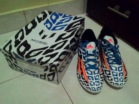 WTS BU sepatu futsal Adidas F5 IN Messi World Cup Edition