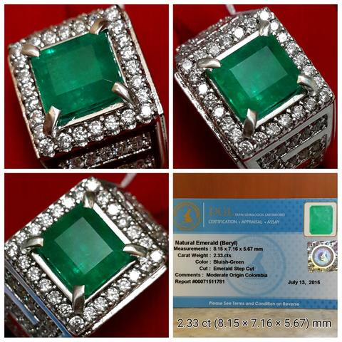 Zamrud / Emerald Colombia 2.33 ct