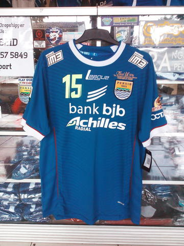 Jersey Persib Original Final ISL 2014 plus MDT