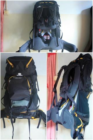 carrier eiger equator 55l