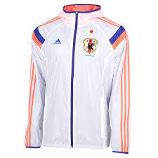 Jaket Adidas Japan Anthem 2014 Pre Match