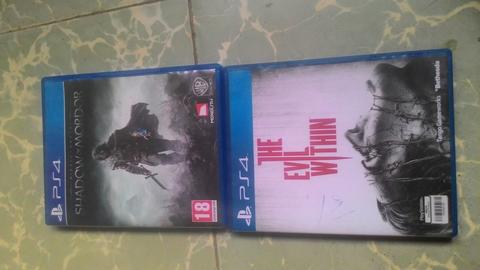 BF shadow of Mordor dan the evil within