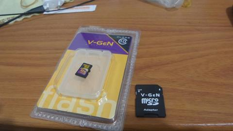 micro sd card Vgen 32gb Class 10 with adapter
