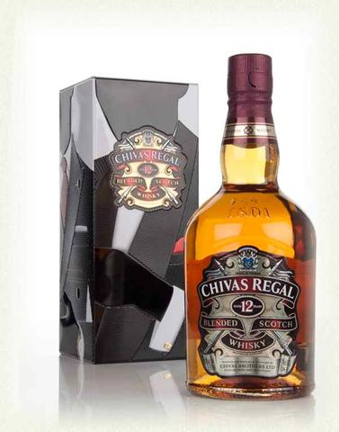 Chivas Regal 12 Years Old - Made for Gentlemen