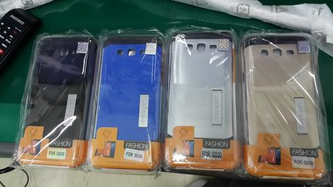 Softcase/Hard Spigen , Tempered Glass Galaxy Grand Prime