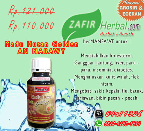 Madu hutan Golden an nabawy