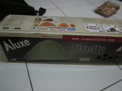 WTS > Luxe Firefly Tent 1P Green Second