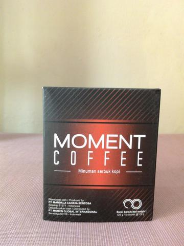 MOMENT Coffee (Herbal) - dijamin ASLI