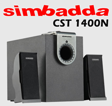 [MVPcomp] Ready Stock Simbadda CST 1400N 2.1 Speaker with MP3 Player & SD Card