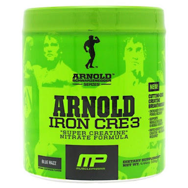 Jual Creatine Arnold IRON CRE3 30 Serving