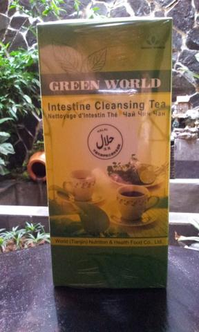Obat Usus Buntuk Pro Cleansing Tea Green World