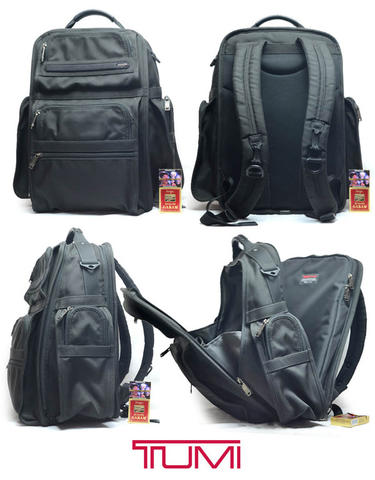 Tas Premium Tumi Alpha Laptop Backpack n Messenger plus Gucci Mampir mampir f57778ffae