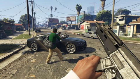 Grand Theft Auto V (GTA 5) PC Game, Complete Single Player Mode