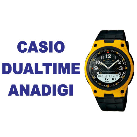 Terjual  Dual Time  Aneka Jam Tangan Casio Analog- Digital Original ... f4218b413d