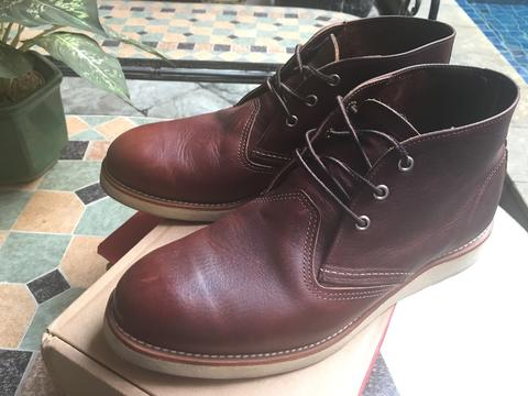 WTS RED WING WORK CHUKKA 3141