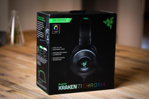 [MVPcomp] Razer Kraken 7.1 Chroma Surround Headset + Mic + LED