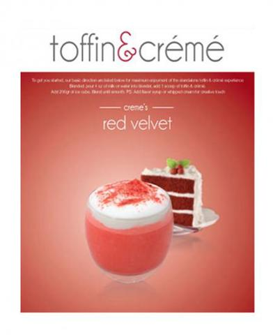 Red Velvet TOFFIN Powder