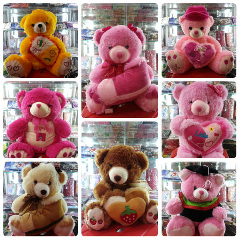 Boneka Teddy Bear Pink - Teddy Bear Love Pink