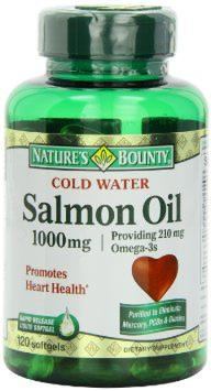 Nature's Bounty Salmon Oil 1000mg , 120-Count