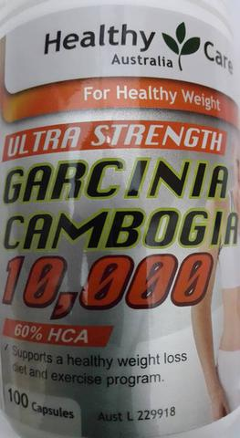 Healthy Care Ultra Strength Garcinia Cambogia 10.000mg 100 kapsul