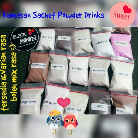 Kemasan Sachet Bubble Drink