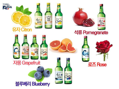 [NEW] ANEKA FRUIT SOJU, IMPORT KOREA