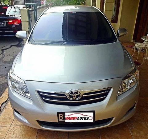 Toyota Altis V 2008 / 2009 Matic Silver Like New